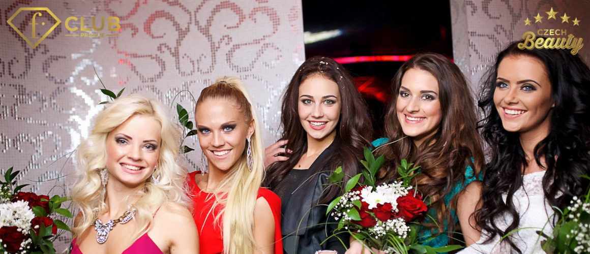 Czech Beauty 2016 Final. 5 beautiful models, magical angel show and desirable lingerie at Fashion Club in Prague